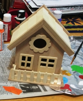 birdhouse not done