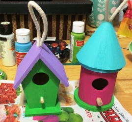 small birdhouses 2