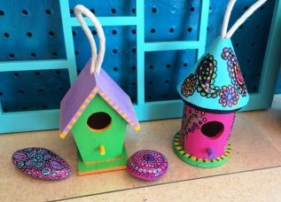 small birdhouses