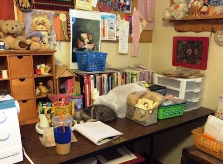 sleeping-in-sewing-room
