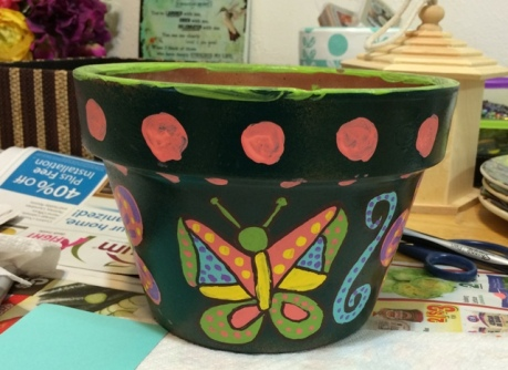 butterfly-pot
