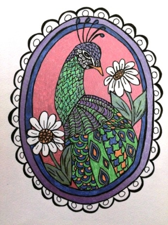oval-peacock