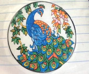 round-notebook-peacock