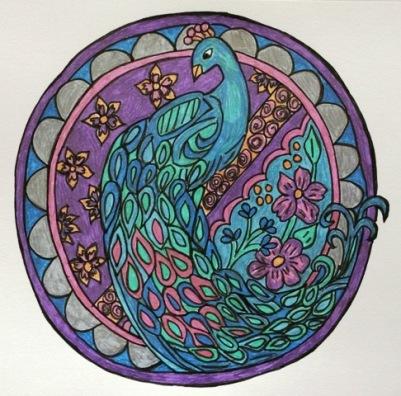 round-peacock