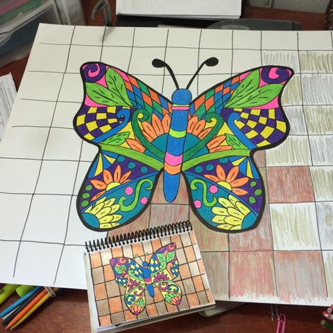 butterfly-in-progress