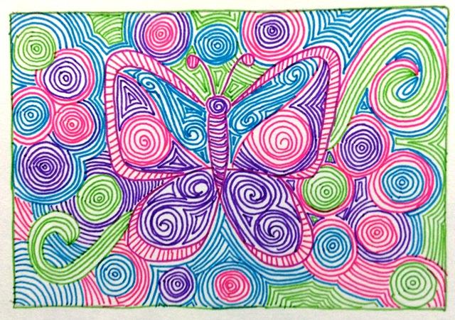 felt-pen-butterfly