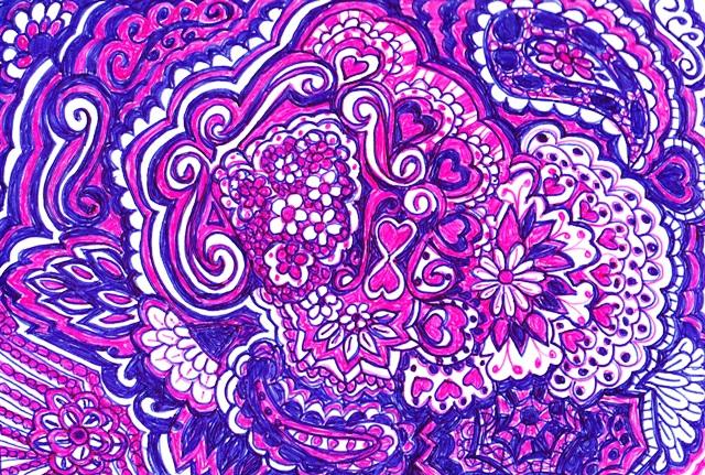 purple-doodle