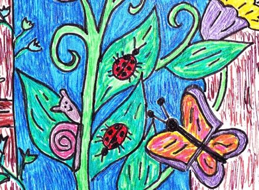 butterflies-and-snail