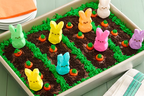 easter-garden-cake