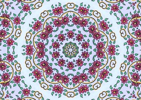flowers doodle ks