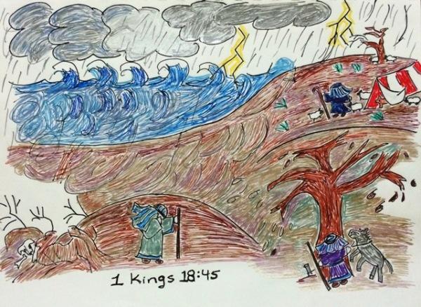 Elijah in storm