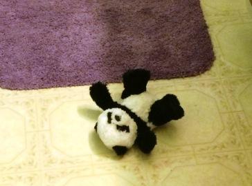 panda on floor 2