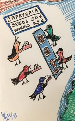 bird cafeteria
