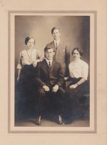 Lydia, Geo, Jennie, Andrew