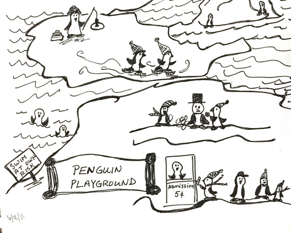 penguin playground