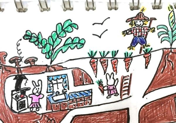 rabbit garden2