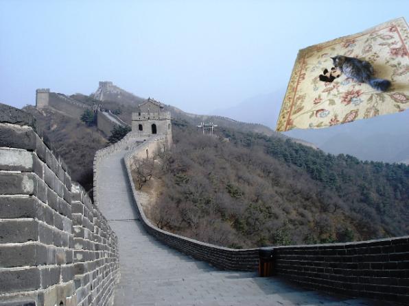 approaching wall