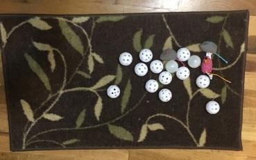 ping pongballs