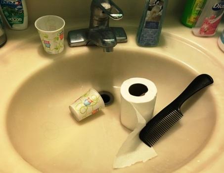 sink before