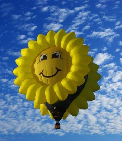 sunny balloon