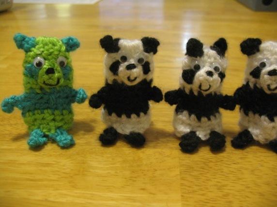 close up pandas