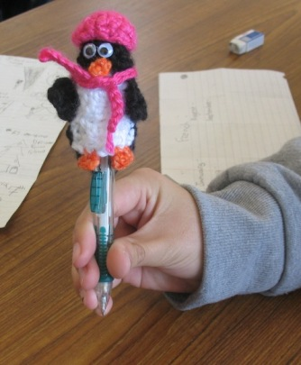penguin pencil
