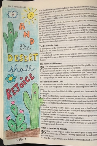 desert rejoice