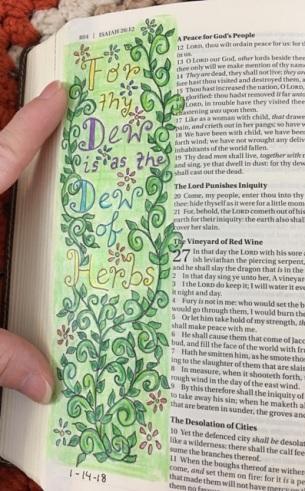 dew of herbs