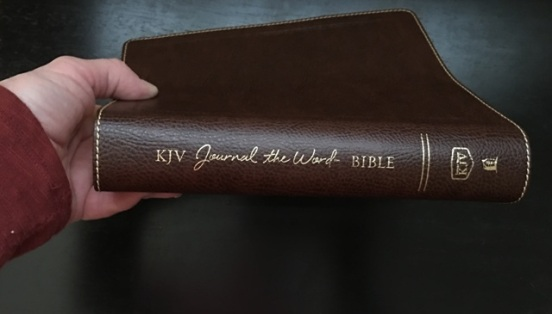 side of Bible