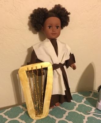 doll modeling shepherd