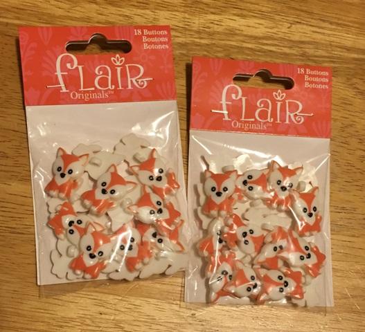 fox buttons