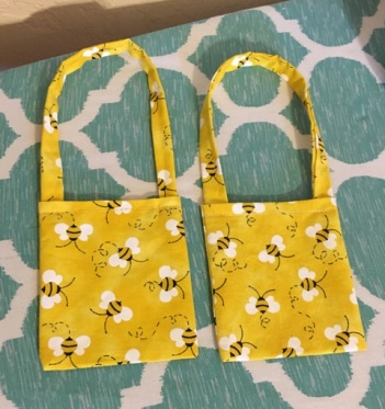 yellow purses