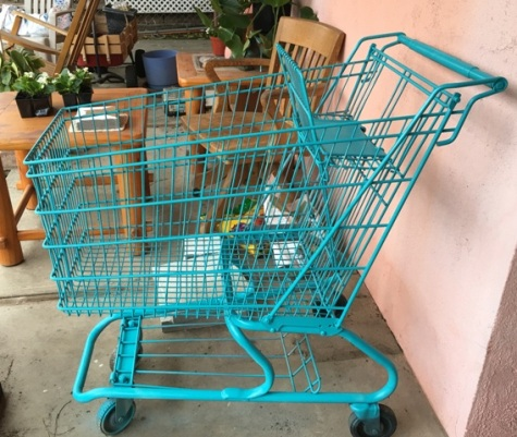 turquoise cart 1