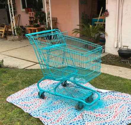 turquoise cart 2