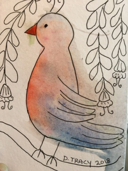 bird started