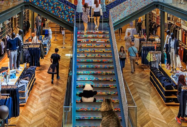 escalator small