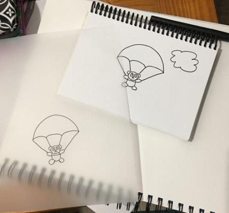 panda parachute