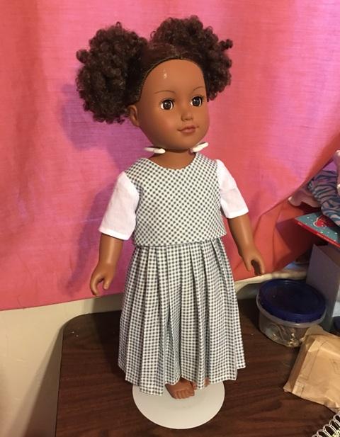 Belle pleated skirt