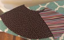 both sides of skirt