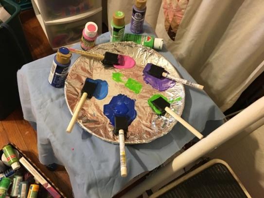paint plate