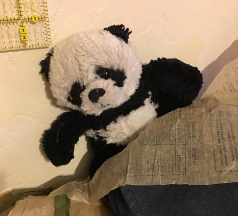 panda by pattern