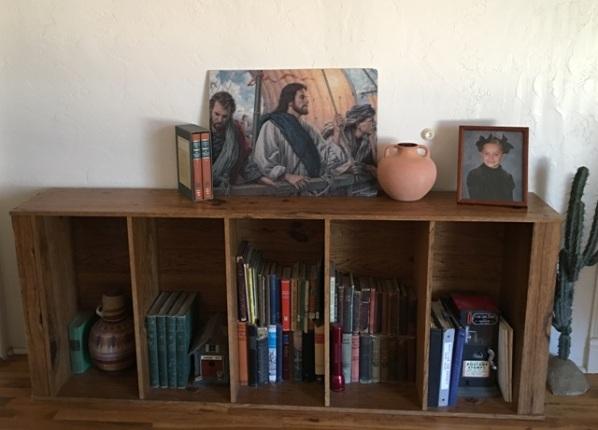 sideways shelf