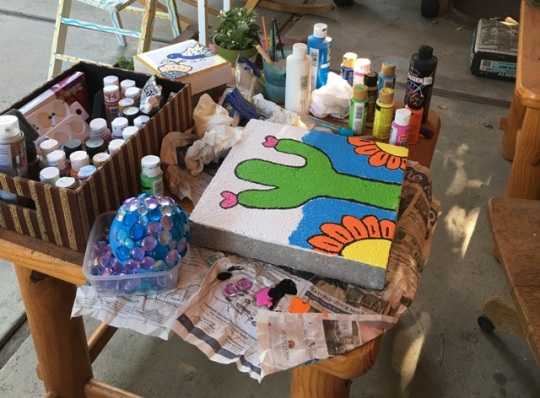 art table patio