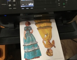 dolls printing