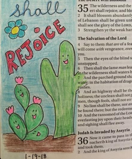 nopales in Bible art