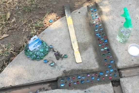 sidewalk gems
