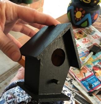 birdhouse black
