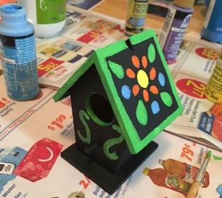 birdhouse started