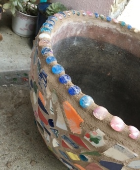grouting the rim