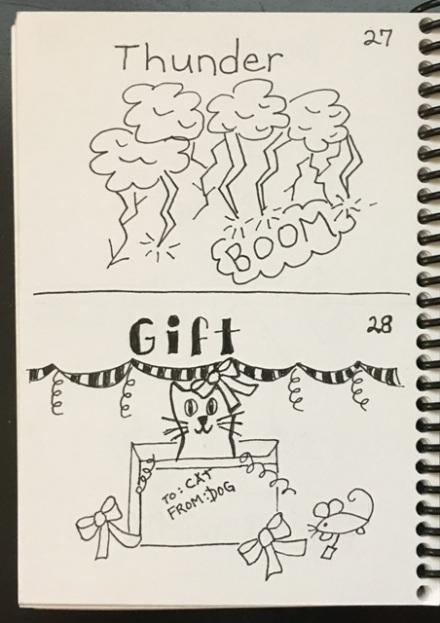 thunder, gift